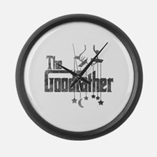 The Goodfather Large Wall Clock