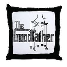 The Goodfather Throw Pillow