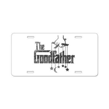 The Goodfather Aluminum License Plate