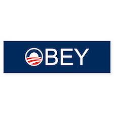 Obey copy Bumper Bumper Sticker