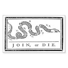 Join, or Die Bumper