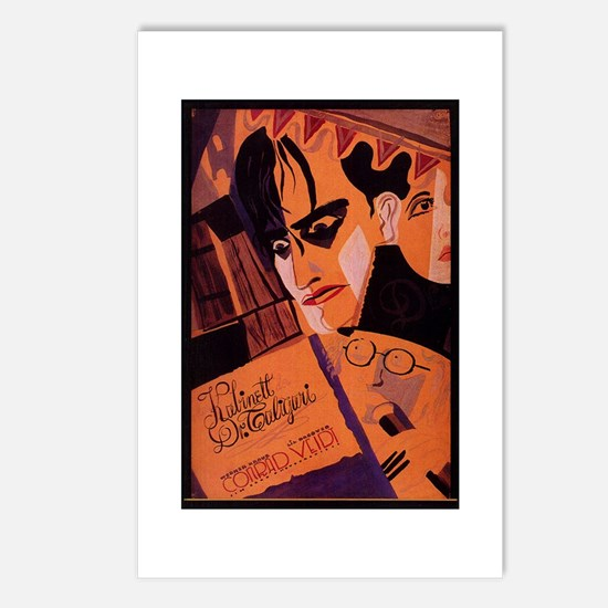 The Cabinet Of Dr. Caligari Postcards (Package of