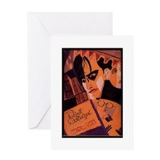 The Cabinet Of Dr. Caligari Greeting Card