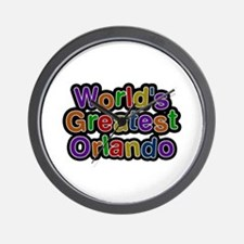 World's Greatest Orlando Wall Clock