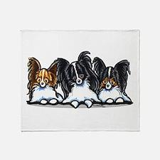 Papillon Lover Throw Blanket