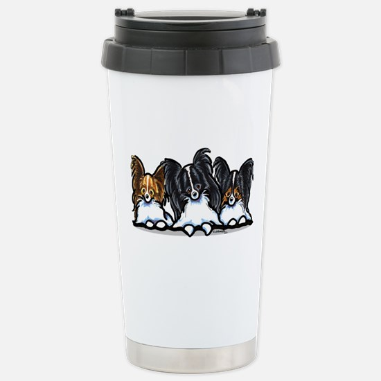 Papillon Lover Stainless Steel Travel Mug
