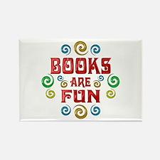 Books are Fun Rectangle Magnet
