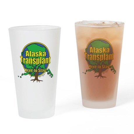 Alaska Transplant Pint Glass
