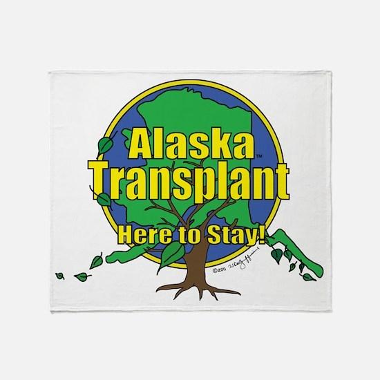 Alaska Transplant Throw Blanket
