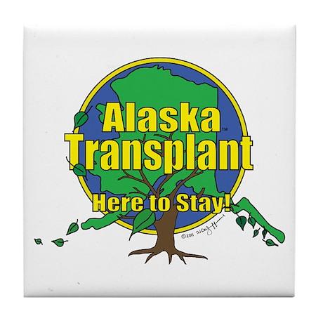Alaska Transplant Tile Coaster
