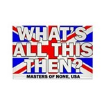 Masters Of None Fridge Magnet