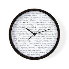 Greenland Rolling Wall Clock