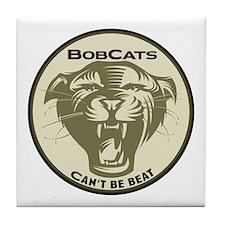 Bobcats Tile Coaster