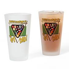 Pool/Billiards #1 Dad Pint Glass
