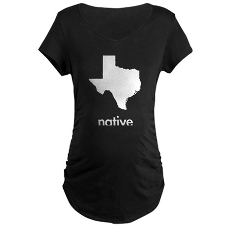 Texas Native Maternity Dark T-Shirt