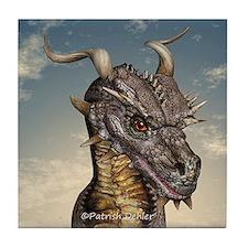 Dragon Head Tile Coaster