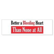 Bleeding Heart Bumper Car Sticker
