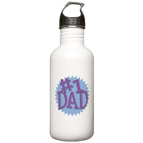 Number 1 Dad Stainless Water Bottle 1.0L