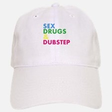 Sex Drugs & Dubstep Baseball Baseball Cap