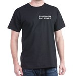 Defend Education Black T-Shirt