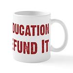 Defend Education Mug