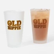 Old Hippie Peace Pint Glass
