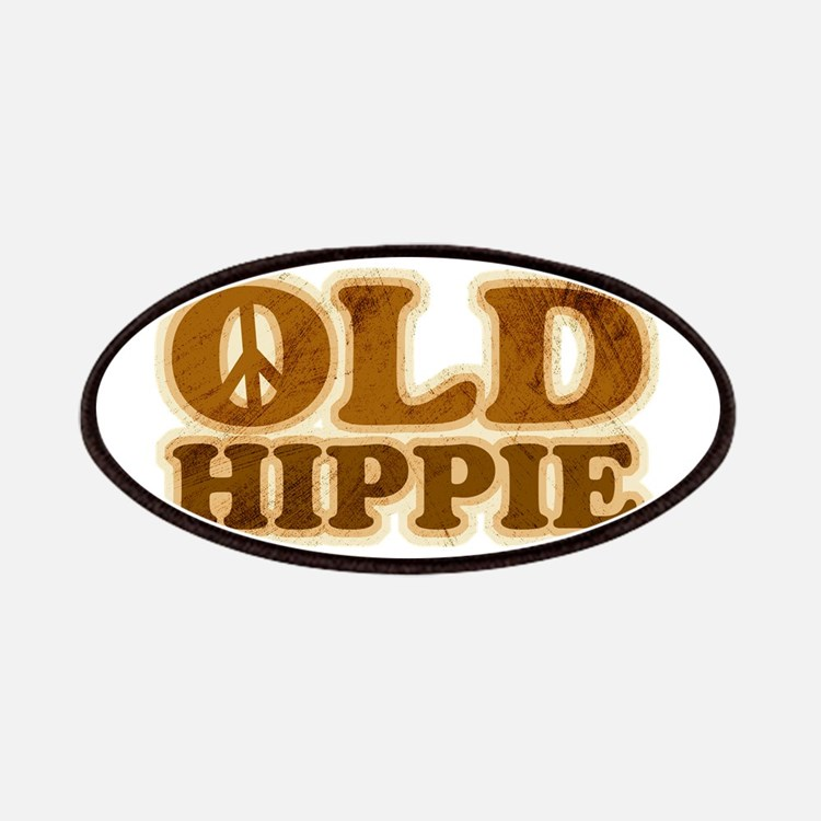 Old Hippie Peace Patches