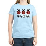 4th Grade School Ladybug Women's Light T-Shirt