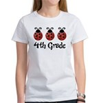 4th Grade School Ladybug Women's T-Shirt