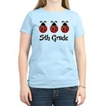 5th Grade School Ladybug Women's Light T-Shirt