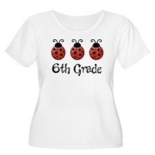 6th Grade School Ladybug T-Shirt