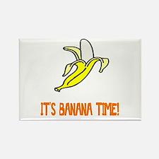 Weird Banana Time Rectangle Magnet