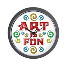 Art is Fun Wall Clock