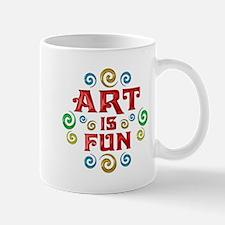 Art is Fun Mug