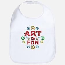 Art is Fun Bib