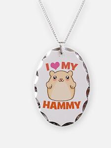 I Love My Hammy Necklace