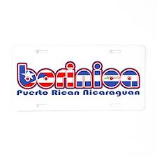 BoriNica Aluminum License Plate