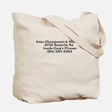 Funny Chiropractic Tote Bag