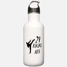 Karate birthday Water Bottle