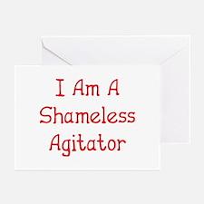 Shameless Agitator Greeting Cards (Pk of 10)