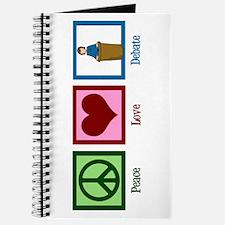 Peace Love Debate Journal