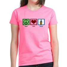Peace Love Debate Tee