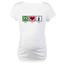 Peace Love Debate Shirt