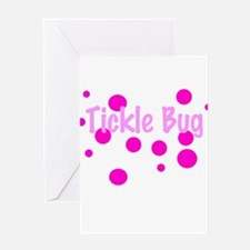 Tickle Bug Greeting Card