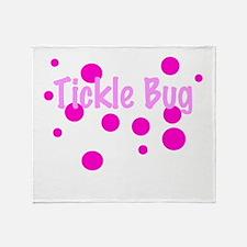 Tickle Bug Throw Blanket