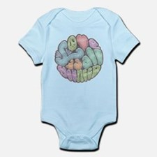 Love Is All-rnd-xfd Infant Bodysuit