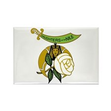 Daughters of the Nile Rectangle Magnet