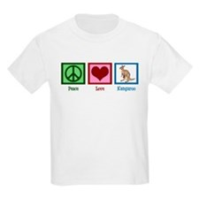 Peace Love Kangaroo T-Shirt