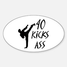 Karate birthday Decal