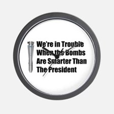 In Trouble Wall Clock